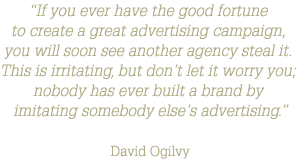 Russell-Risko Agency - David Ogilvy Quote